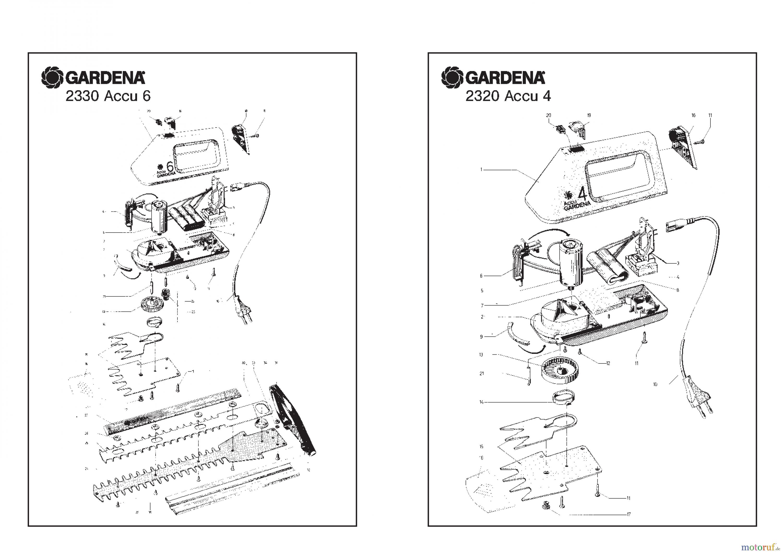 gardena akkuscheren rasenschere accu 3 ersatzteile online bestellen. Black Bedroom Furniture Sets. Home Design Ideas