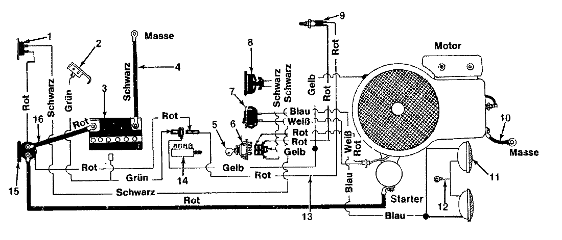 Wiring Diagram For Electric Snow Blower on cadet baseboard heater parts