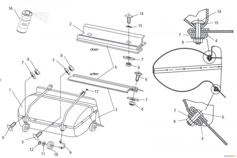 tielb rger rasentraktor zubeh r tk520 seite 5 ersatzteile online bestellen. Black Bedroom Furniture Sets. Home Design Ideas