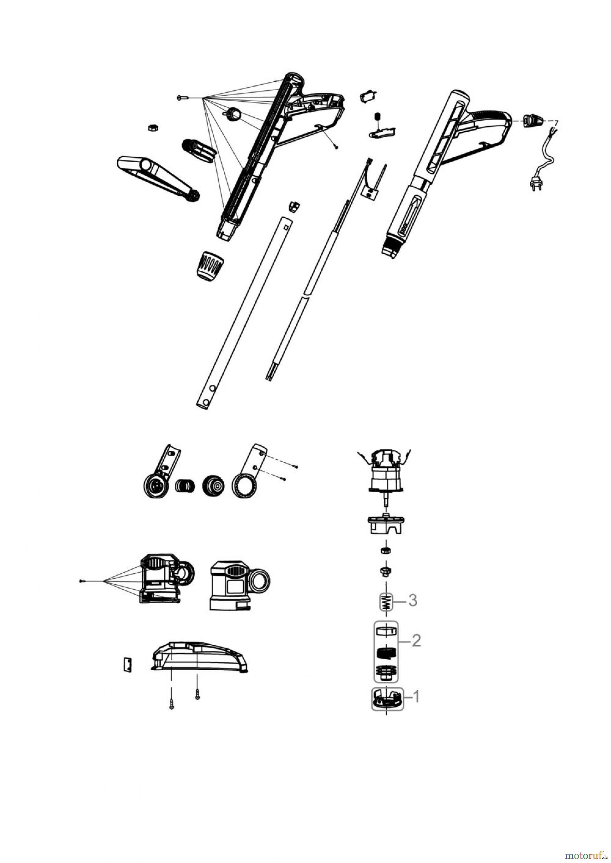 g de gartentechnik trimmer elektro trimmer rasentrimmer grt 351 t 95154 fsl95154 01. Black Bedroom Furniture Sets. Home Design Ideas